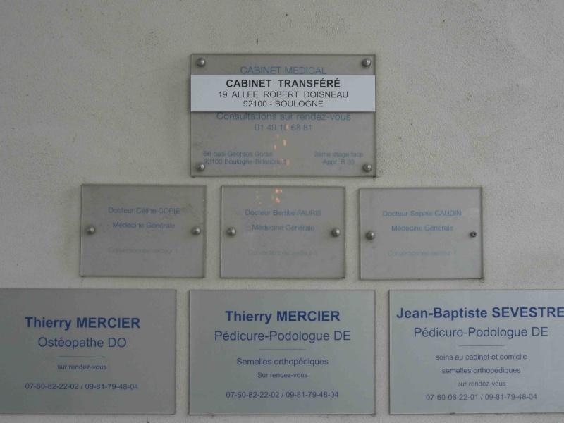 Professions médicales et paramédicales Dsc09252