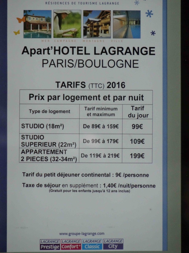 Informations sur Lagrange City Dsc09652