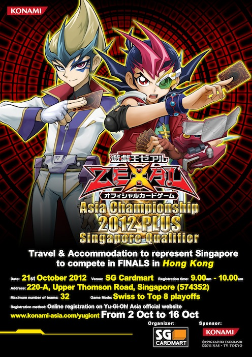 Asia Championships 2012 Plus SG Qualifiers Poster10