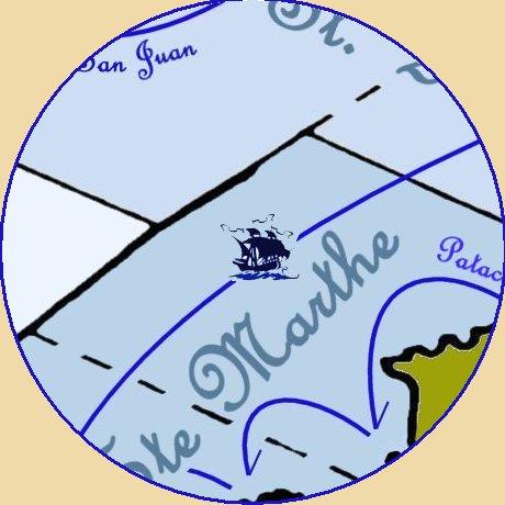 """Cabine du Capitaine Don Playmores dit """"l'Ogre de Bilbao"""" Lasard10"""
