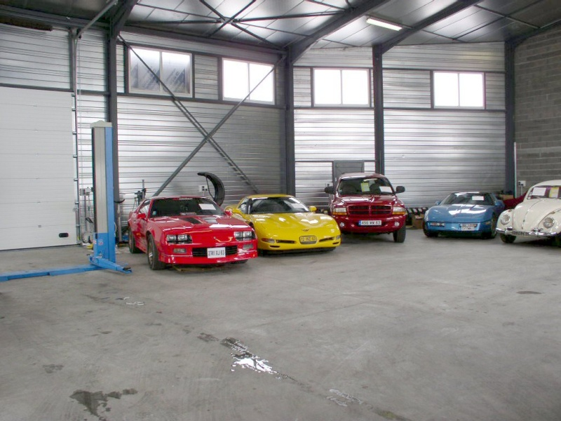 mes deux ex Ricaines corvette et camaro G_pass11