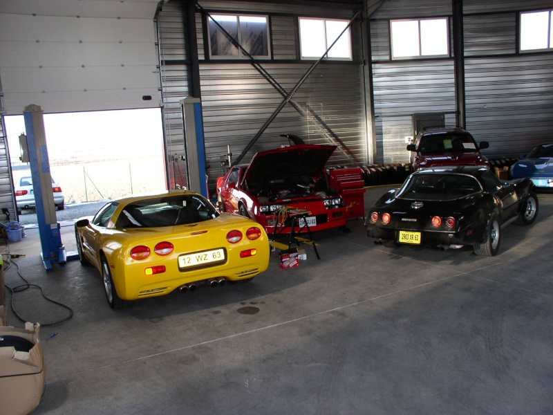mes deux ex Ricaines corvette et camaro G_pass12