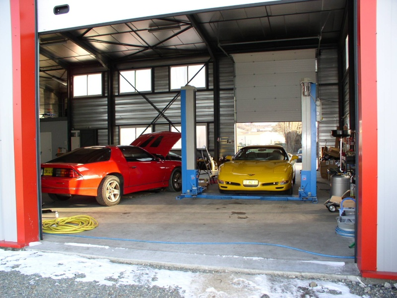 mes deux ex Ricaines corvette et camaro G_pass16