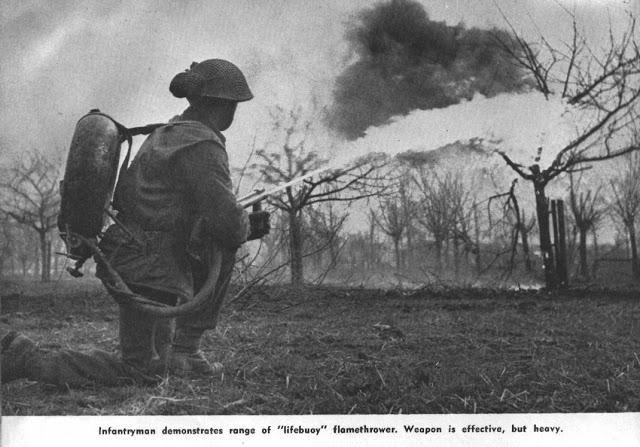 British 1943 Ackpack Flame Thrower Lifebu10