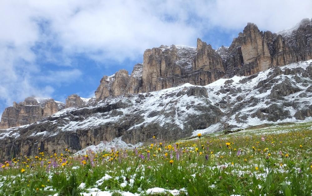 Alpes orientales J6 - Passo Pordoi, Passo Sella (It) Pordoi20