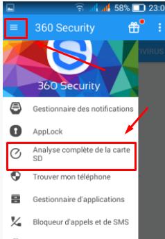تطبيق لحماية الهاتف وتسريعه ووضع كلمة سرية لأي تطبيق 360 security Screen46