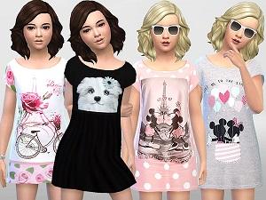 Для детей (платья, туники, комлекты с юбками) - Страница 2 Tumbl124