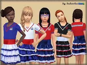 Для детей (платья, туники, комлекты с юбками) - Страница 2 Tumbl178