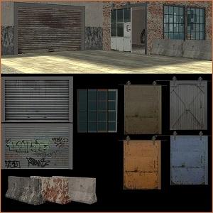 Дворовые объекты, строительный декор - Страница 8 Tumbl260