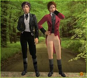 Старинные наряды, костюмы - Страница 4 Tumbl375