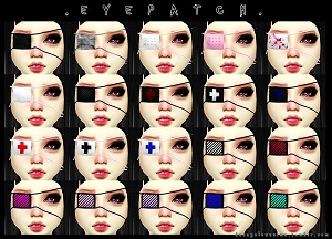 Маски, повязки на глаза Tumblr59