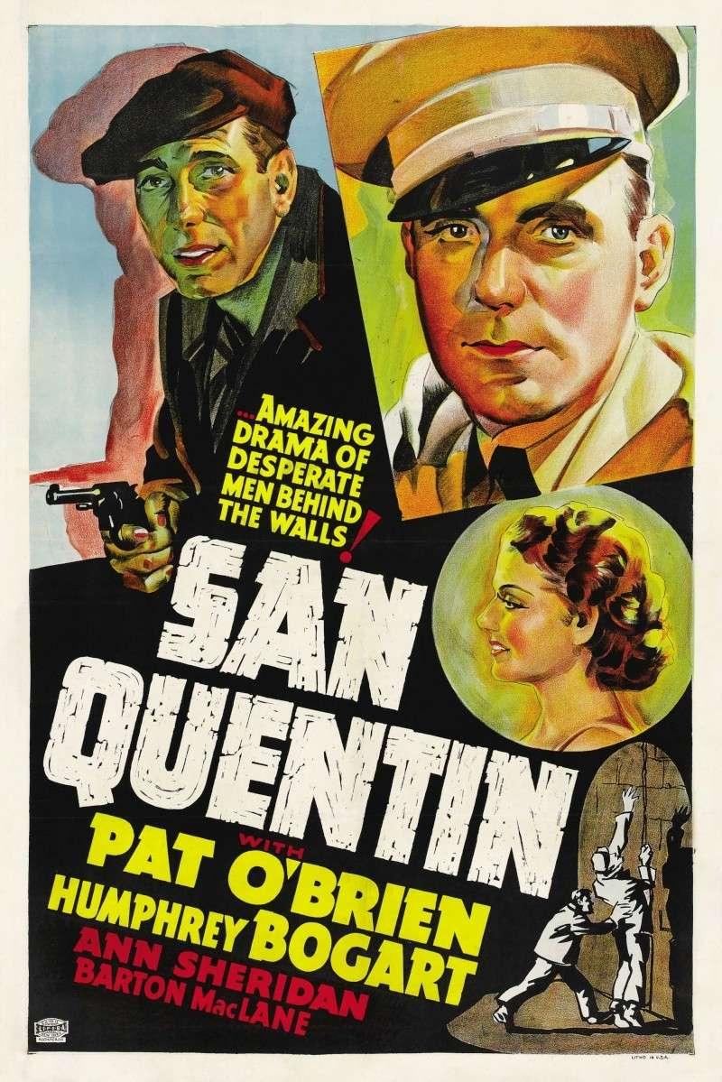 Sen Kventin (San Quentin) (1937) Poster12
