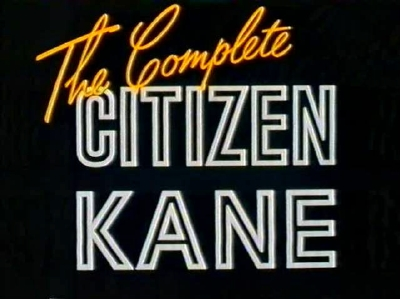 The Complete Citizen Kane (1991) Thecom10