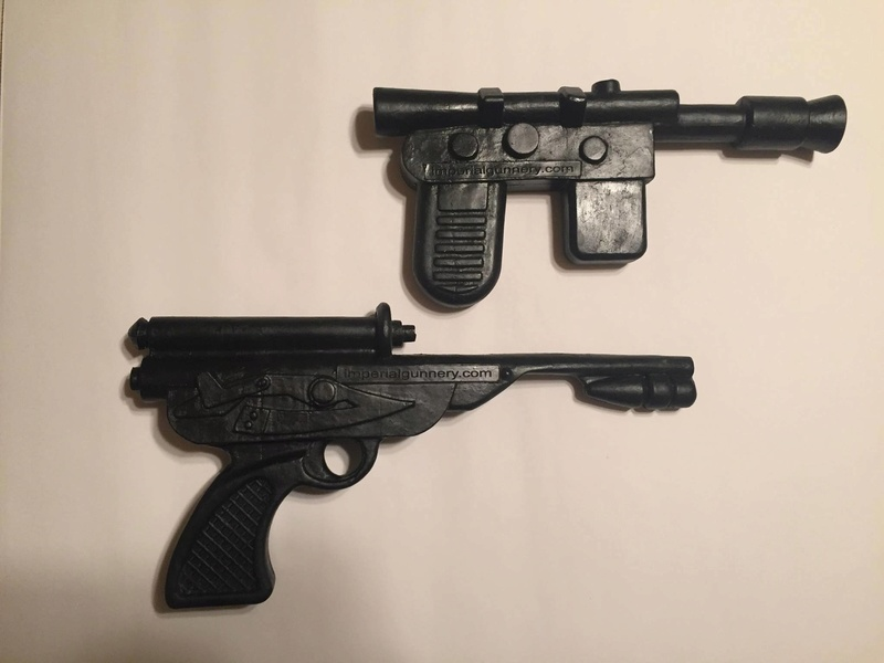 Life size blaster - TIG's Official Full Size Smuggler and Palace Blaster - *Update 9 28* Just  2 Palace Blasters Left 13978210