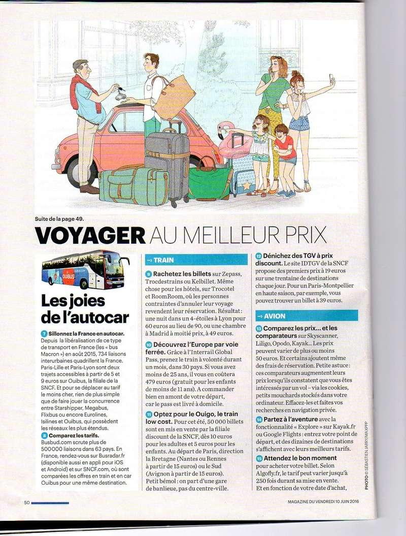 """bons plans vacances :  voici des infos  extraites du magazine  """" le parisien """"pour ceux  qui souhaitent voyager pas cher.....à vos agendas !!!!.... Bons_p11"""