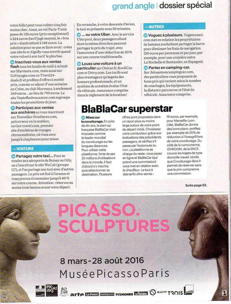 """bons plans vacances :  voici des infos  extraites du magazine  """" le parisien """"pour ceux  qui souhaitent voyager pas cher.....à vos agendas !!!!.... Bons_p12"""