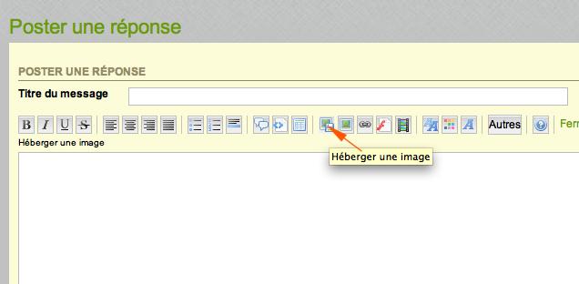 Publier une photo dans un message Hyberg12