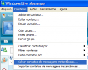 [Tutorial] Como fazer backup dos contatos do MSN Salvar10