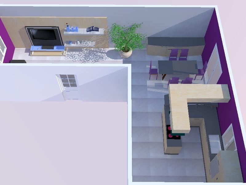 Et maintenant salon, salle à manger, cuisine ouverte Jet_210