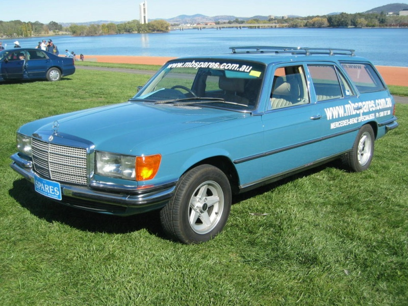 La Mercedes 450 SEL Estate 16370610