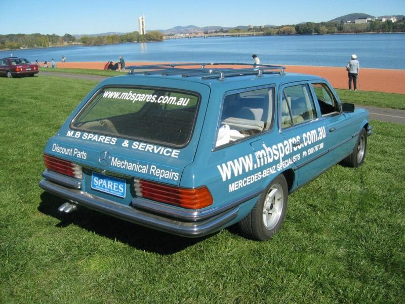La Mercedes 450 SEL Estate 16370611