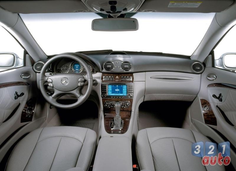[Essai] Mercedes CLK 320 CDI (C209) C2004c11