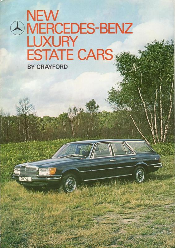La Mercedes 450 SEL Estate Crayfo10