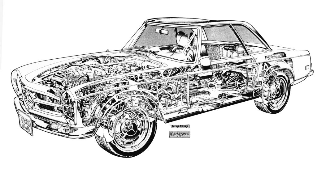 "La ""Pagode"" 280 SL (W113 1967-1971)  Daveyt10"