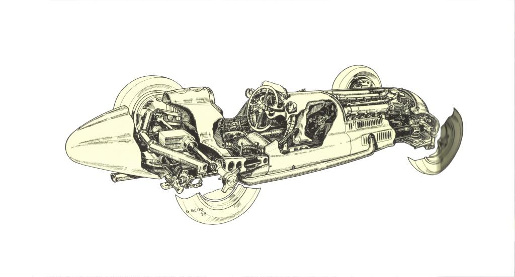 [ Historique] Mercedes-Benz W 154 1938-1939 (F1)  Merce240