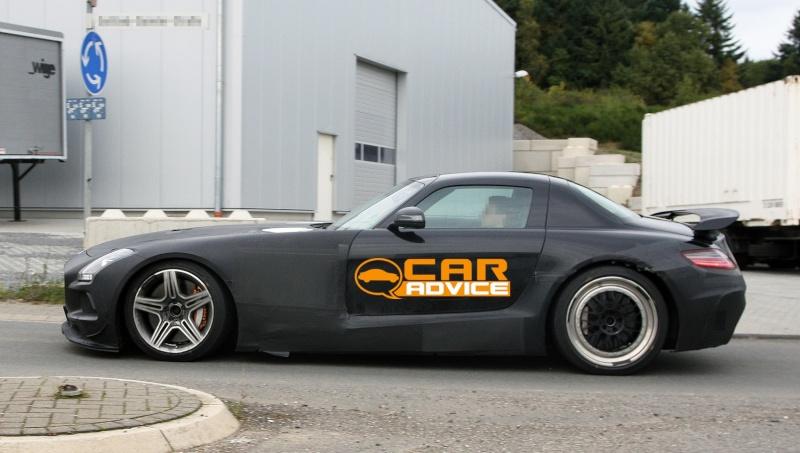 Mercedes SLS AMG Black Series Merce455
