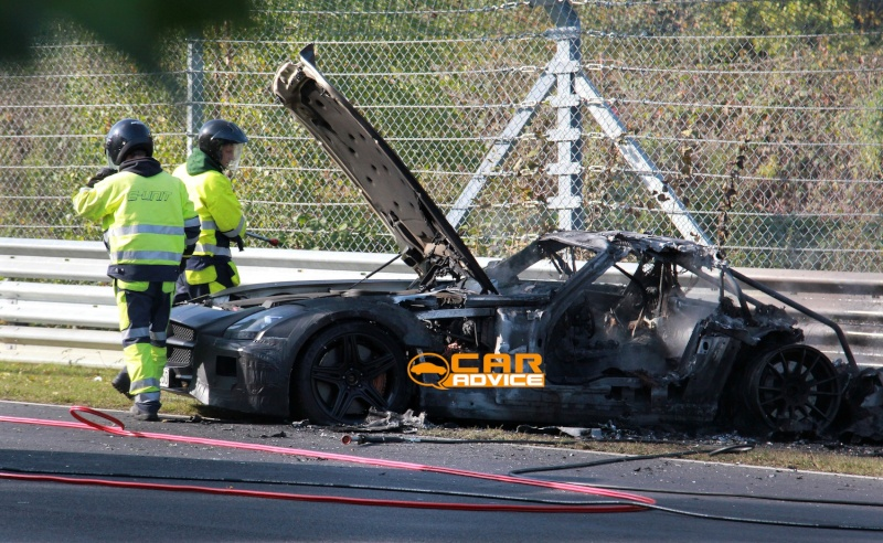 Mercedes SLS AMG Black Series Merce458
