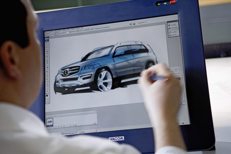 [Essai & Vidéo] Le Mercedes-Benz GLK 320 CDI (X204) 2008- Merced94
