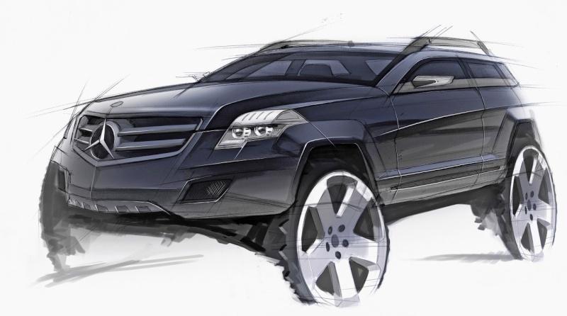 [Essai & Vidéo] Le Mercedes-Benz GLK 320 CDI (X204) 2008- Merced96