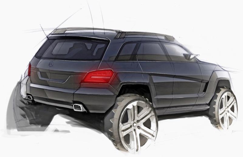 [Essai & Vidéo] Le Mercedes-Benz GLK 320 CDI (X204) 2008- Merced97