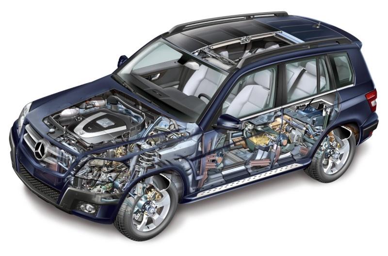 [Essai & Vidéo] Le Mercedes-Benz GLK 320 CDI (X204) 2008- Merced98