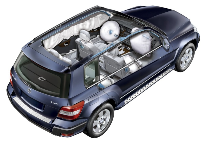 [Essai & Vidéo] Le Mercedes-Benz GLK 320 CDI (X204) 2008- Merced99