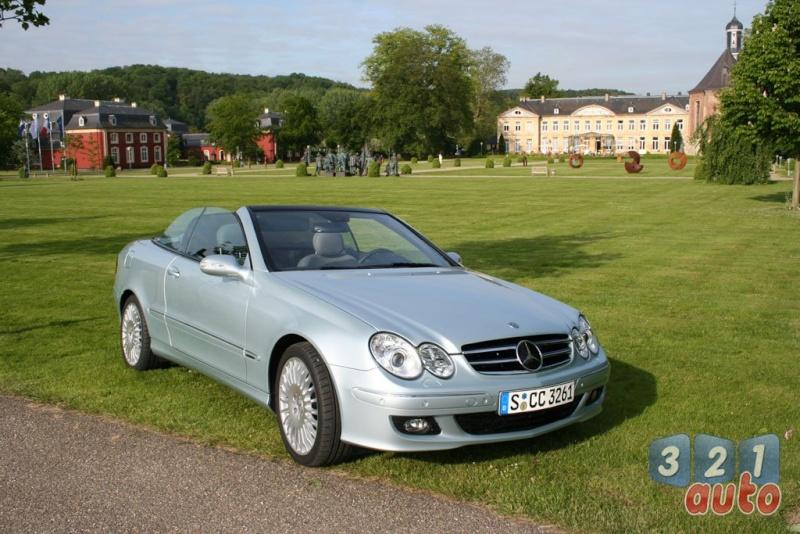 [Essai] Mercedes CLK 320 CDI (C209) Photo-11