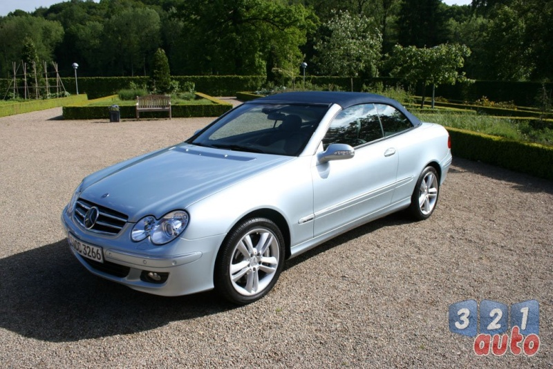 [Essai] Mercedes CLK 320 CDI (C209) Photo-12