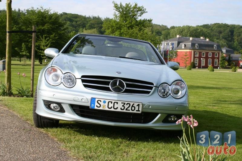 [Essai] Mercedes CLK 320 CDI (C209) Photo-13