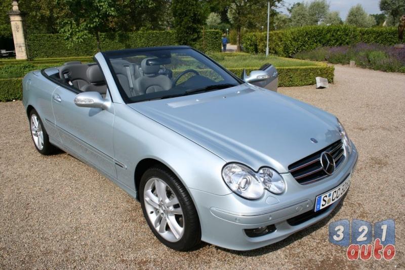 [Essai] Mercedes CLK 320 CDI (C209) Photo-14