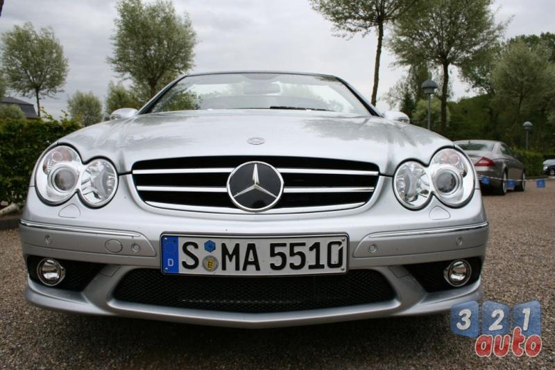 [Essai] Mercedes CLK 55 AMG Cabriolet (C209) Photo-16