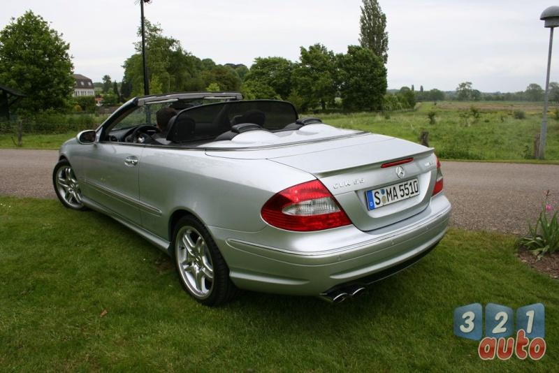 [Essai] Mercedes CLK 55 AMG Cabriolet (C209) Photo-28