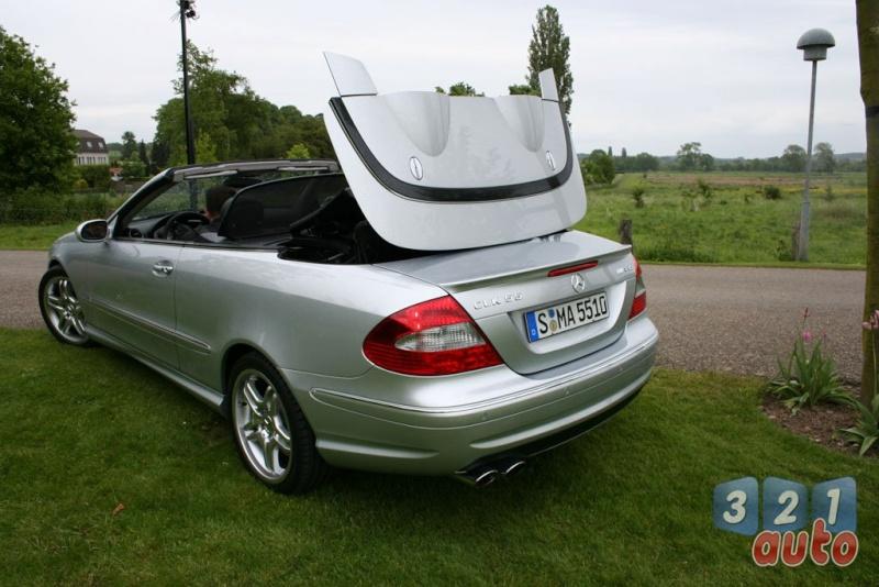 [Essai] Mercedes CLK 55 AMG Cabriolet (C209) Photo-29