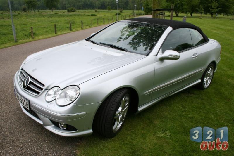 [Essai] Mercedes CLK 55 AMG Cabriolet (C209) Photo-31