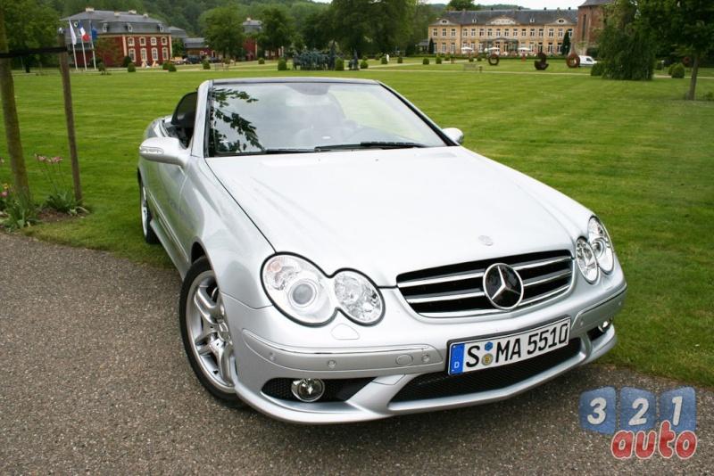 [Essai] Mercedes CLK 55 AMG Cabriolet (C209) Photo-32