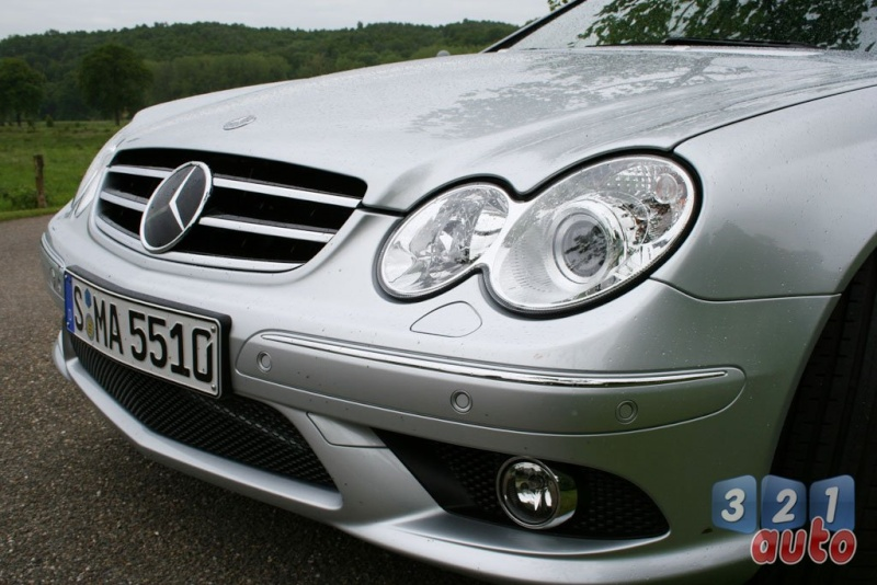 [Essai] Mercedes CLK 55 AMG Cabriolet (C209) Photo-33