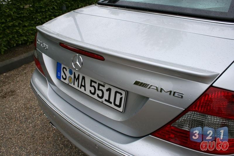 [Essai] Mercedes CLK 55 AMG Cabriolet (C209) Photo-35