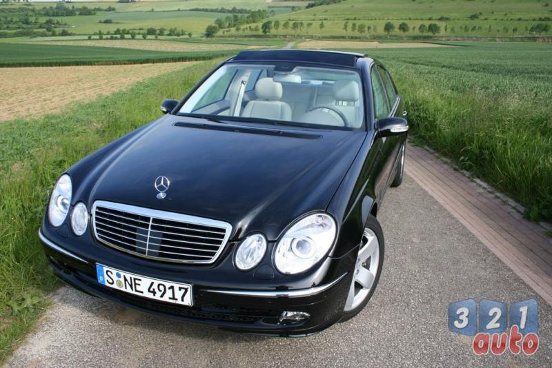 [Essai] La Mercedes E 420 CDI (W211)   Photo-58