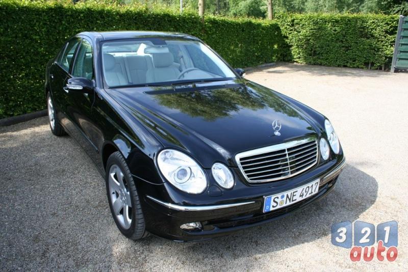 [Essai] La Mercedes E 420 CDI (W211)   Photo-59