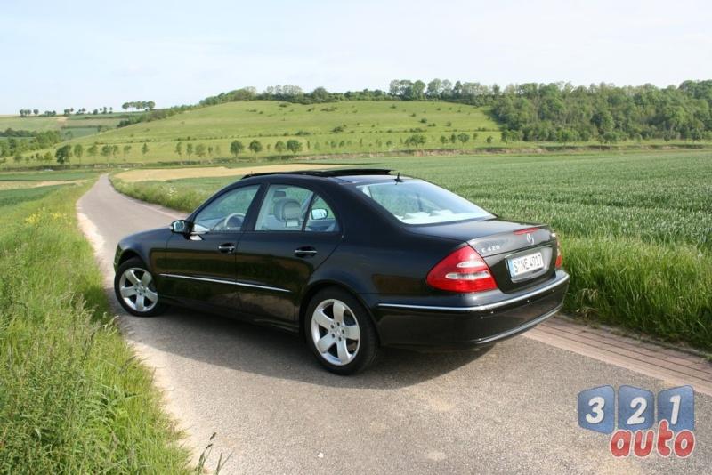 [Essai] La Mercedes E 420 CDI (W211)   Photo-60